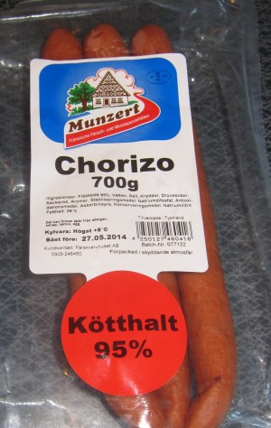 Chorizo - Munzert